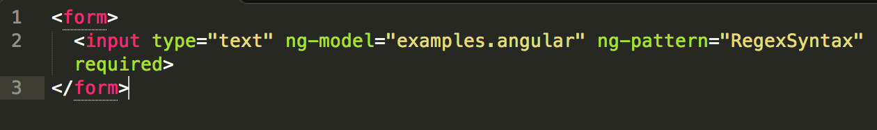 Regex You Devil You A Guide To Some Simple Validation Using Ng